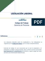 Inducción de Nuevos Lideres. Legislación Laboral