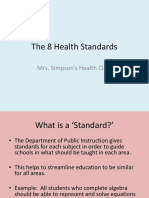 national health standards
