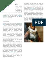 Biografia Pedro de Alvarado