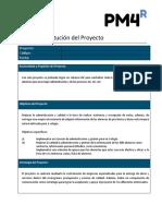 Acta de Constitucion Del Proyecto Colegio