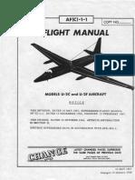 Flight Manual Lockheed U-2