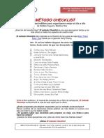 Dp Metodo Checklist 1