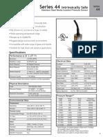 Asco Series 44 Pressure Sensor Catalog