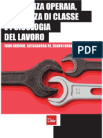 Experiencia Operaria, Consciencia de Classe e Psicologia Do Trabalho - Ivar Oddone Et Al.