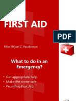 First Aid - Niko