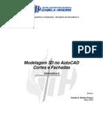 Apostila AutoCAD 3D Corte Fachada Cecilia Franco