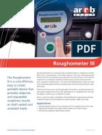 ARRB Roughometer III Brochure