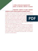 Antecedentes de Francisco Sanchez Lagunas de Oxidacion