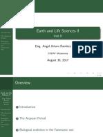 Ciencias de la Vida y de la Tierra II - Unidad II