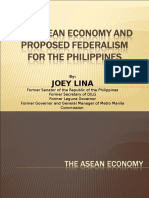 Asean Economy and Proposed Federalism