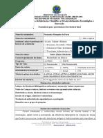 Programa de Iniciação Científica e Desenvolvimento Tecnológico e Inovação