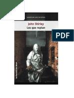 Shirley John - Los Que Reptan