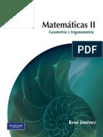 Matemáticas II; Geometría Y Trigonometría - René Jiménez (2da Edición).pdf