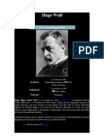 WOLF, HUGO - Datos bio. y obra musical, wagneriana....doc