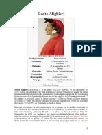 ALIGHIERI, DANTE- Datos bio. y obra Magna literaria.doc