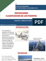 Sesion 1 - Definicion Clasificacion de Puentes