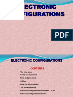 Electronic Config