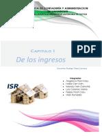 Capitulo I de Los Ingresos (ISR)