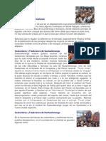 Costumbres y Tradiciones de Los Departamentos de Guatemala
