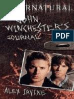 Diario de John Winchester - Alex Irvine