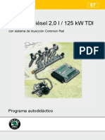 067-Motor Diesel 2.0 l - 125 KW - TDI - CR