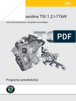74 - Motor de Gasolina TSI 1,2 L-77 KW