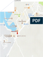 Mapa Hollyday Inn