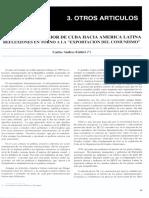 La Politica Exterior de Cuba Hacia Ameri