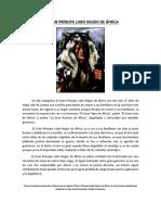 El Gran Príncipe Lobo Negro de África