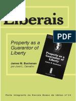 James M. Buchanan - Propriedade como garantia de liberdade - James Buchanan.pdf