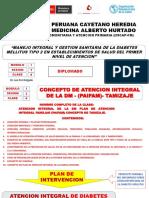 Tema Nº 4 I-2-4 Concepto de Atencion Integral de La Dm II - Plan de Atencion Integral - Concepto de Tamizaje