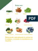 Estos Son Alimentos Para Revertir Diabetes 2
