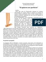 Carta ES Pentecostes 2017