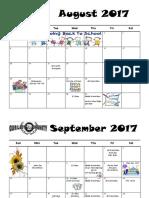 calendar 2017-2018  english
