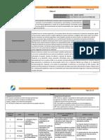 Planeación Semestral Física II