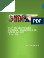PLAN  DE  DESARROLLO REGIONAL   CONCERTADO  DE MADRE  DE  DIOS 2014 - 2021.pdf