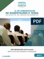 Manual de Apresentação de Dissertações e Teses 2017