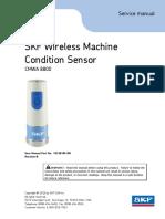 SKF Wireless Machine Condition Sensor CMWA 8800 User Manual