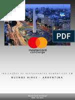 Restaurantes Românticos Em Buenos Aires, Argentina