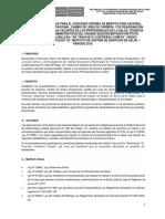 MODELO DE CONCURSO DE MERITOS