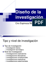 13. Diseño de Investigacion