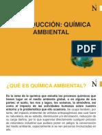 DIAPOSITIVAS QUIMICA AMBIENTAL