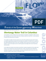 Spring 2008 Flow Information Newsletter, Friends of the Lower Olentangy Watershed