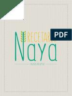 Recetario Naya Web