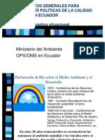Diagnostico de La Calidad Del Aier en Ecuador