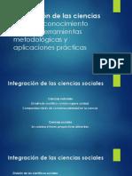 Integración de Las Ciencias Sociales