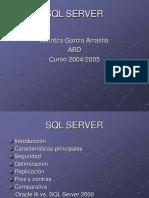 SQL Server Presentaci-n (ArantzaGarcia)