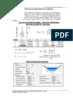 2 Solución de Ecuaciones No Lineales