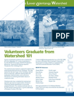 Fall 2009 Flow Information Newsletter, Friends of the Lower Olentangy Watershed