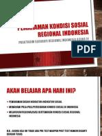 Kondisi Sosial Regional Indonesia